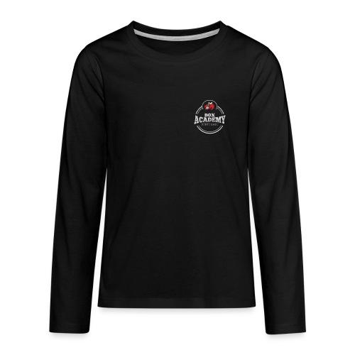 BoxAcademyTransparent - Teenager Premium Langarmshirt