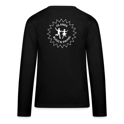 Olands Bugg Swing stor logga - Långärmad premium T-shirt tonåring