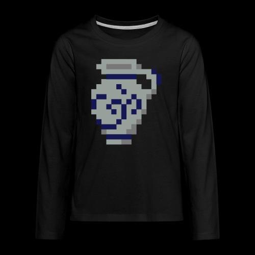 Pixel Bembel - Teenager Premium Langarmshirt