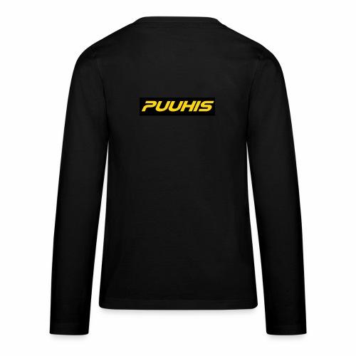 Puuhis verkkokauppa - Teinien premium pitkähihainen t-paita