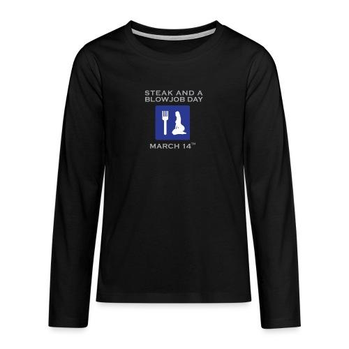 sbjdsign - Teenagers' Premium Longsleeve Shirt