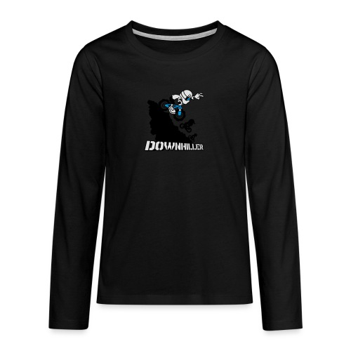 Downhiller - Teenager Premium Langarmshirt
