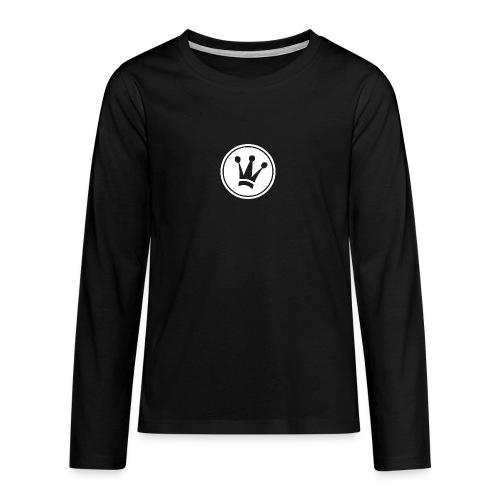 Couronne Blanche - T-shirt manches longues Premium Ado