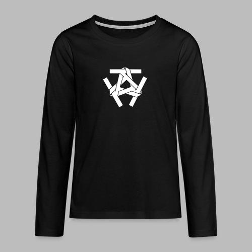 KKK-Logo-vektor - Teenager Premium Langarmshirt