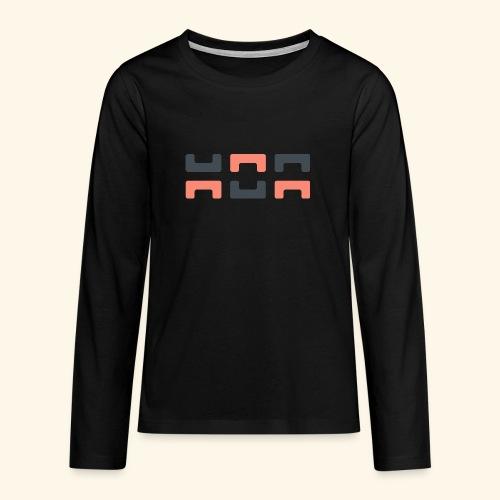 Angry elephant - Teenagers' Premium Longsleeve Shirt