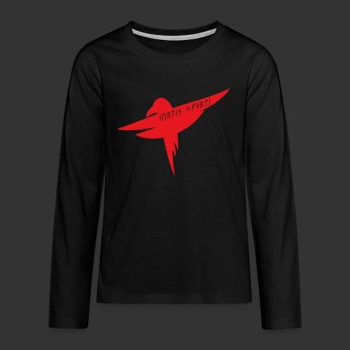 Raven Red - Teenagers' Premium Longsleeve Shirt