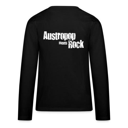 Austropop meets Rock classic back - Teenager Premium Langarmshirt
