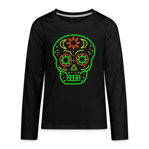 Skull 0SK03 - Teenager Premium Langarmshirt