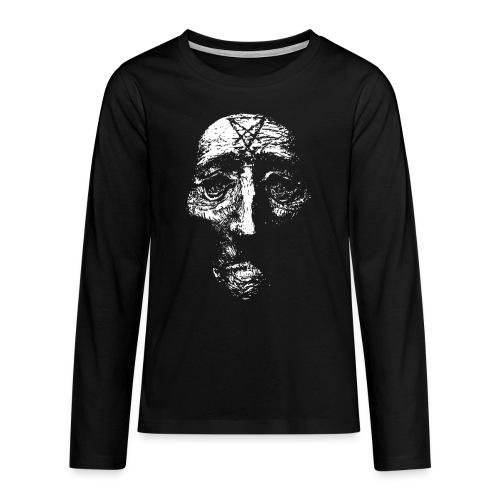sigilhuvudgubbehalsband png - Långärmad premium T-shirt tonåring