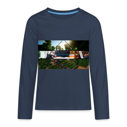 Mein Merch [Sonder Edition] - Teenager Premium Langarmshirt