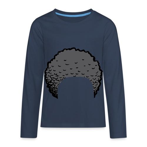 ZayDoItBest Afro Rockin' Case - Teenagers' Premium Longsleeve Shirt