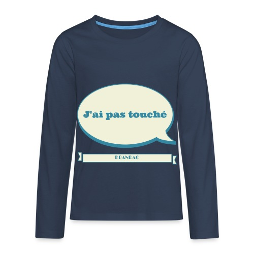 pas-touché-brandao - T-shirt manches longues Premium Ado