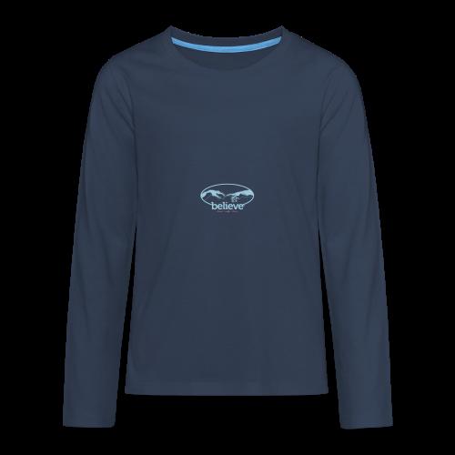 Believe - Teenager Premium Langarmshirt