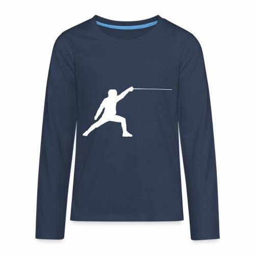 Fencer - Teenager Premium Langarmshirt