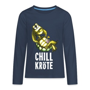 Chillkröte - Teenager Premium Langarmshirt