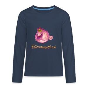 Tuttikugelfisch - Teenager Premium Langarmshirt