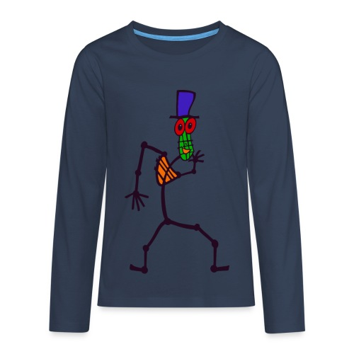 Kib Kool - Teenager premium T-shirt med lange ærmer