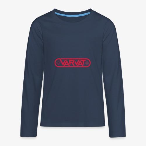 Varvat - Långärmad premium-T-shirt tonåring