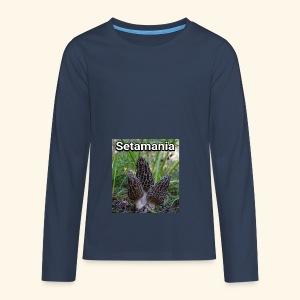 Colmenillas setamania - Camiseta de manga larga premium adolescente