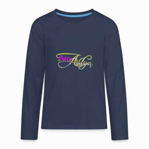 Die PartyAdeligen - Teenager Premium Langarmshirt