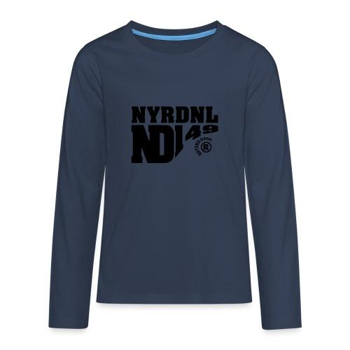 149 ND - Teenager Premium shirt met lange mouwen