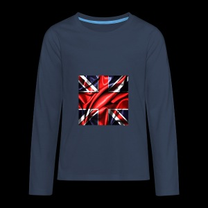 Union Jack design - Teenagers' Premium Longsleeve Shirt