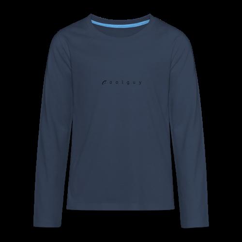 coolguy Collection - Premium langermet T-skjorte for tenåringer