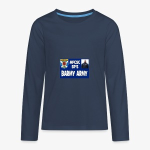 Barmy Army - Teenagers' Premium Longsleeve Shirt