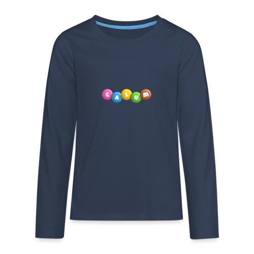 calum merch!!!!!!!!!!!!!!!!!!!!!!!!!!!!! - Teenagers' Premium Longsleeve Shirt
