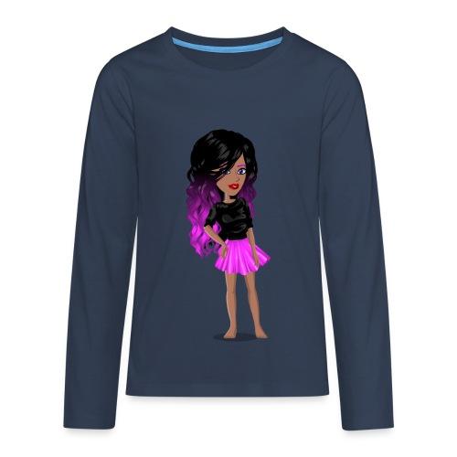 MSP_Min_kj - Premium langermet T-skjorte for tenåringer