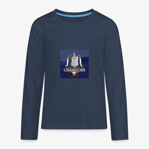 MFC Champions 2017/18 - Teenagers' Premium Longsleeve Shirt