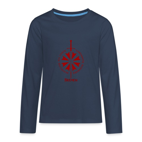 T shirt front HB - Teenager Premium Langarmshirt