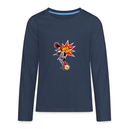 Indie Splash - Teenager Premium Langarmshirt