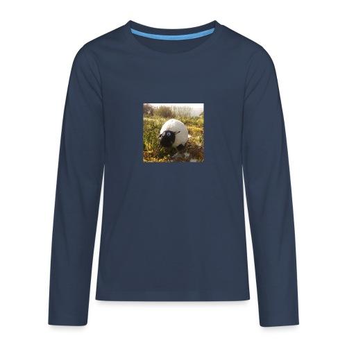 Sheep in Ireland - Teenager Premium Langarmshirt
