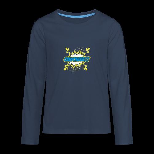 Canyoneer!!! - Teenager Premium Langarmshirt