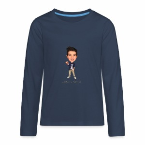 Ethan's World - Teenagers' Premium Longsleeve Shirt