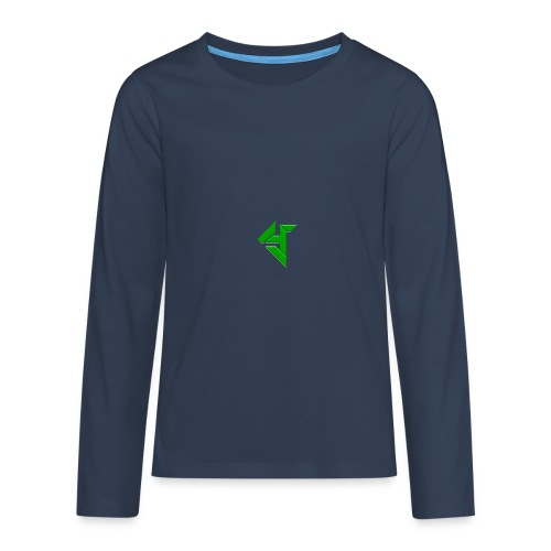 Y_logo - Teenagers' Premium Longsleeve Shirt