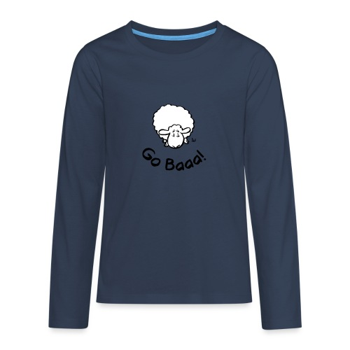 Sheep Go Baaa! - Teenagers' Premium Longsleeve Shirt