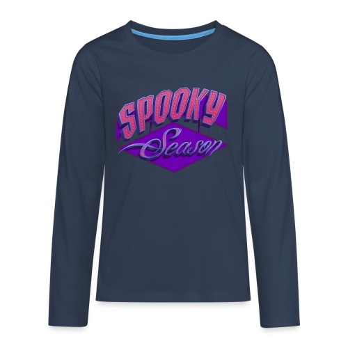 Spooky Season - Teenager Premium Langarmshirt