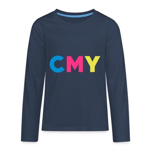 CMYK - Teenager Premium shirt met lange mouwen