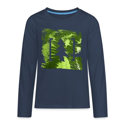 art.4.nature #JederBaum - Teenager Premium Langarmshirt