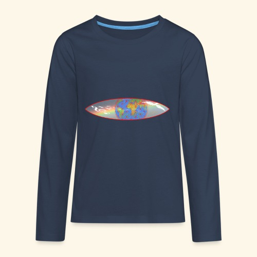 Heal the World - Teenager Premium Langarmshirt