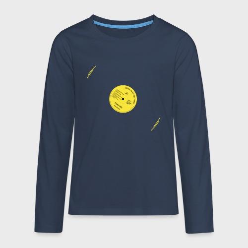 T-Record - Classic Elpee Design - Teenager Premium shirt met lange mouwen