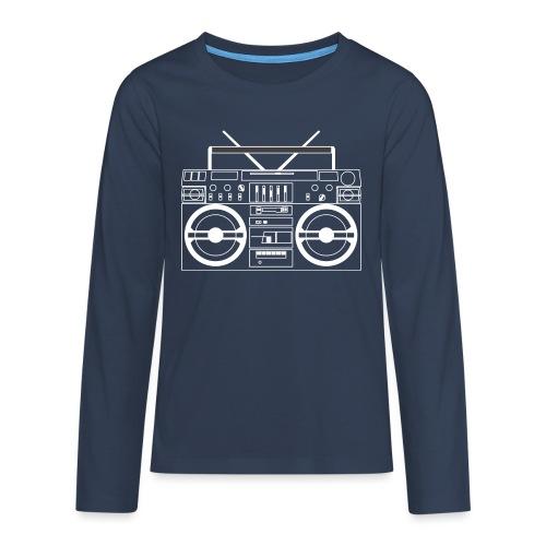 Boombox - WA - Teenagers' Premium Longsleeve Shirt