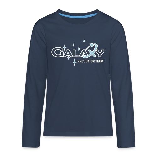 Galaxy - Teenager Premium Langarmshirt