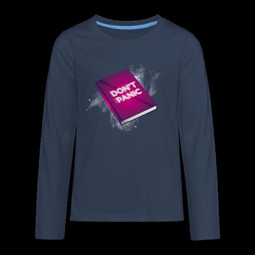 Don't panic - Camiseta de manga larga premium adolescente