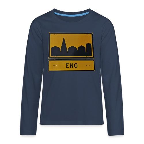 The Eno - Teinien premium pitkähihainen t-paita