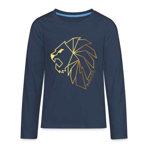 Löwe, Lion Inside - Teenager Premium Langarmshirt