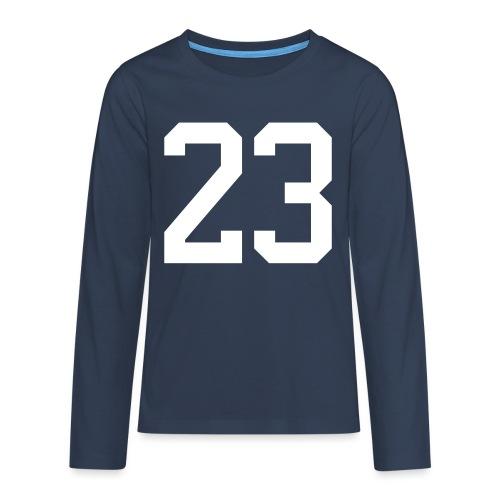 23 VISUR Stefan - Teenager Premium Langarmshirt