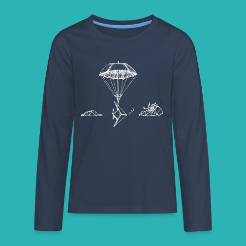 Galleggiar_o_affondare-png - Maglietta Premium a manica lunga per teenager